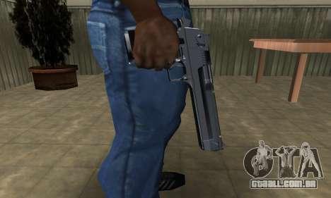 Refle Deagle para GTA San Andreas segunda tela