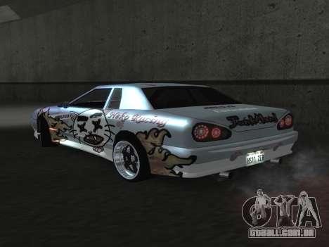 Elegy Paintjobs para GTA San Andreas vista direita