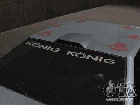 Elegy Paintjobs para GTA San Andreas vista inferior