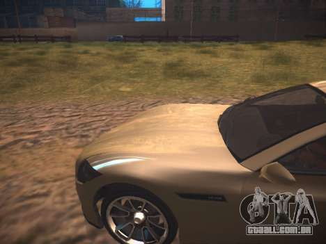 ENB Dark Orbit para GTA San Andreas por diante tela