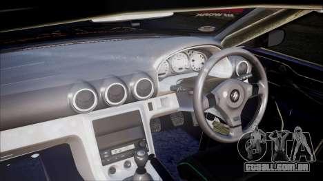 Nissan Silvia S15 para GTA San Andreas traseira esquerda vista