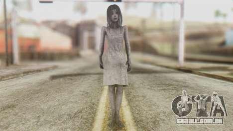 Kayako Skin para GTA San Andreas segunda tela