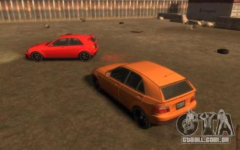 Karin Sultan Hatchback v2 para GTA 4 vista de volta