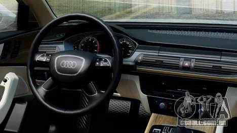 Audi A6 Stanced para GTA San Andreas vista direita