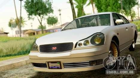 GTA 4 Intruder para GTA San Andreas vista direita