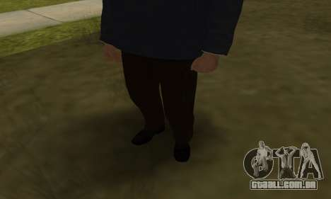 FBI HD para GTA San Andreas quinto tela