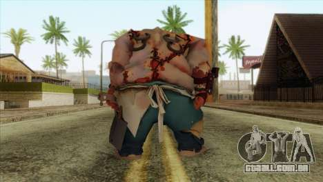 Pudge from DotA 2 para GTA San Andreas segunda tela