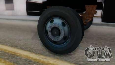 GMC Top Kick 88-95 para GTA San Andreas traseira esquerda vista