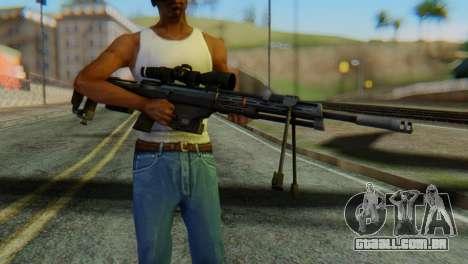 DSR50 Sniper Rifle para GTA San Andreas terceira tela