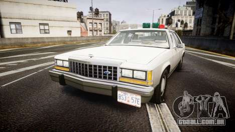 Ford LTD Crown Victoria 1987 Detective [ELS] para GTA 4