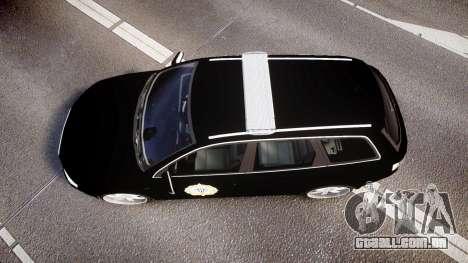 Audi S4 Avant Serbian Police [ELS] para GTA 4 vista direita