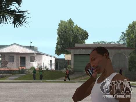 Sony Xperia Z Ultra para GTA San Andreas segunda tela