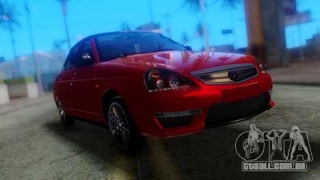 VAZ 2170 AMG para GTA San Andreas