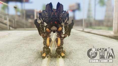 Bumblebee Skin from Transformers v1 para GTA San Andreas terceira tela