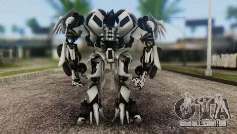 Soundwave Skin from Transformers para GTA San Andreas terceira tela