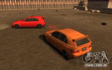 Karin Sultan Hatchback v2 para GTA 4 vista interior