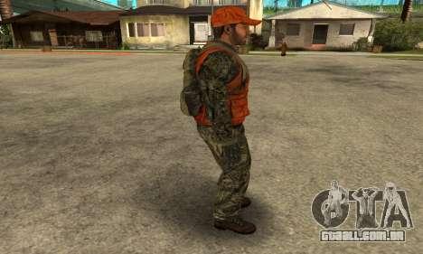 Job Man para GTA San Andreas quinto tela
