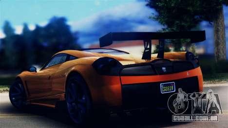 Pegassi Osiris from GTA 5 para GTA San Andreas esquerda vista