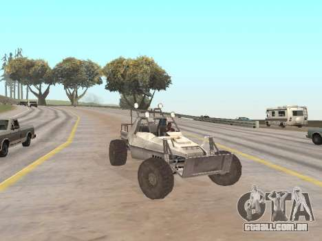 Buggy from Just Cause para GTA San Andreas vista direita