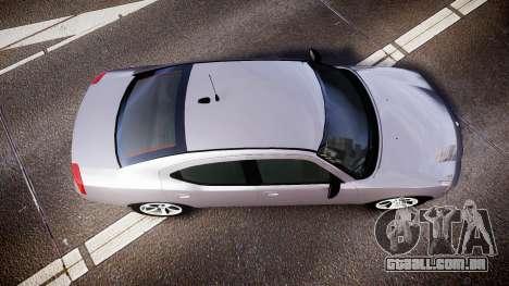 Dodge Charger Police Unmarked [ELS] para GTA 4 vista direita