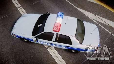 Ford Crown Victoria Liberty Police [ELS] para GTA 4 vista direita