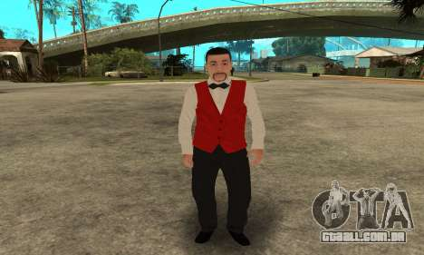 Casino Skin para GTA San Andreas terceira tela