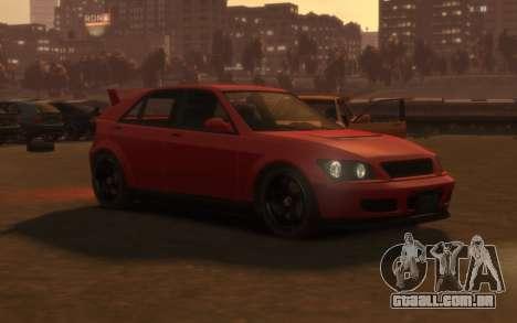 Karin Sultan Hatchback v2 para GTA 4 esquerda vista