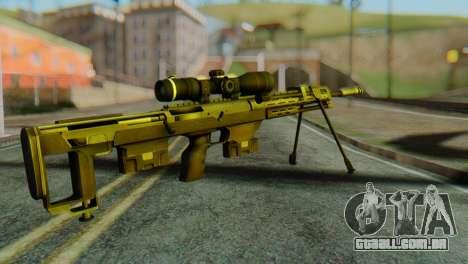 DSR50 Sniper Rifle para GTA San Andreas segunda tela