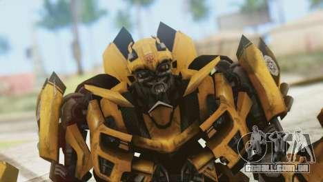 Bumblebee Skin from Transformers v2 para GTA San Andreas