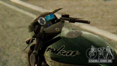 Bajaj Rouser 135 para GTA San Andreas vista direita