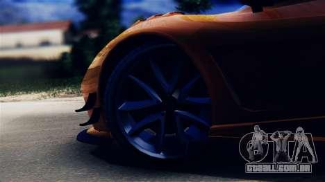 Pegassi Osiris from GTA 5 para GTA San Andreas vista traseira