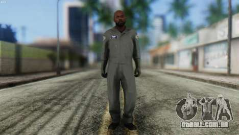 Pilot Skin from GTA 5 para GTA San Andreas