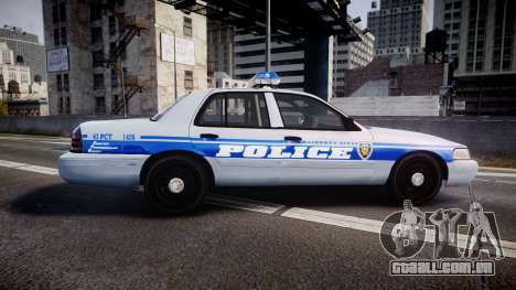 Ford Crown Victoria Liberty Police [ELS] para GTA 4 esquerda vista