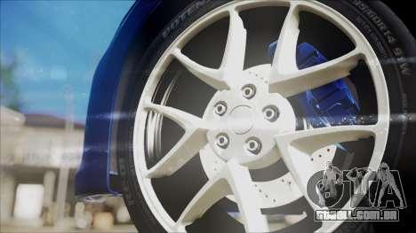 Nissan Maxima 2009 para GTA San Andreas vista direita