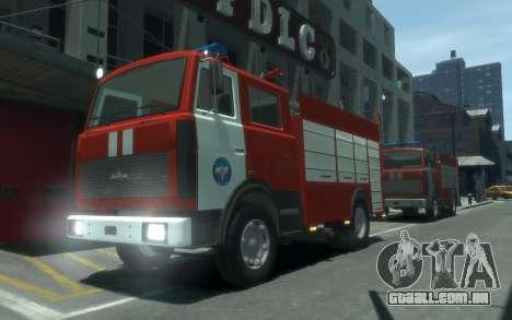 MAZ 533702 de EMERCOM da Rússia para GTA 4
