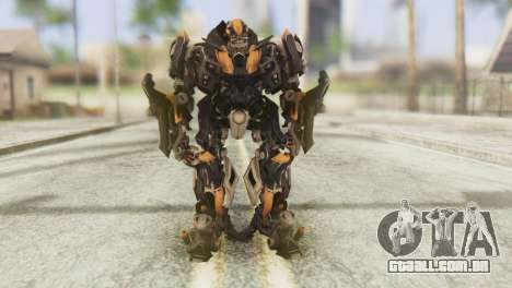 Bumblebee Skin from Transformers v1 para GTA San Andreas segunda tela