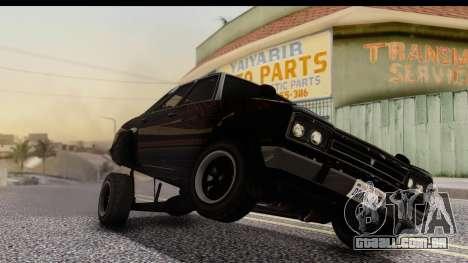 GTA 5 Vulcar Warrener IVF para GTA San Andreas vista direita