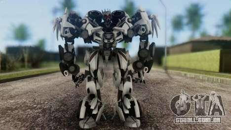 Soundwave Skin from Transformers para GTA San Andreas segunda tela