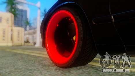Toyota Celica para GTA San Andreas traseira esquerda vista