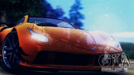 Pegassi Osiris from GTA 5 para GTA San Andreas traseira esquerda vista