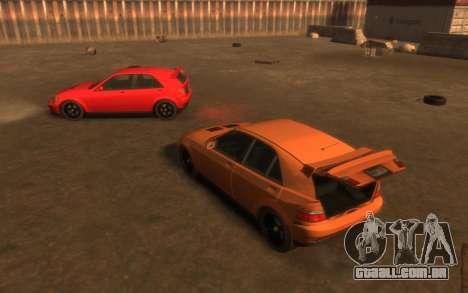 Karin Sultan Hatchback v2 para GTA 4 vista lateral