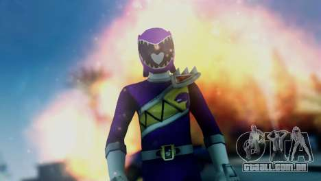 Power Rangers Skin 6 para GTA San Andreas terceira tela
