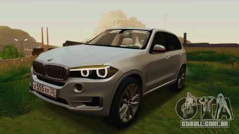 BMW X5 F15 2014 para o motor de GTA San Andreas