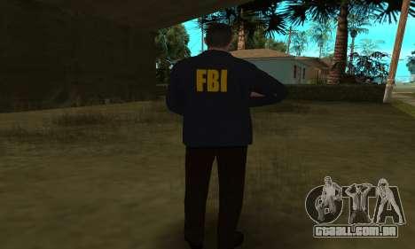 FBI HD para GTA San Andreas sétima tela