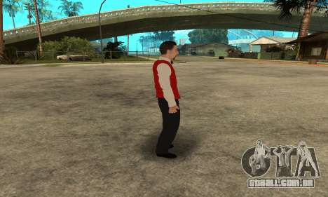 Casino Skin para GTA San Andreas quinto tela