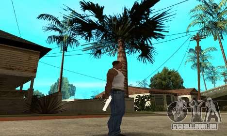 Metalic Deagle para GTA San Andreas terceira tela