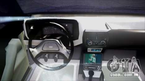 Ford Escort para GTA San Andreas vista traseira