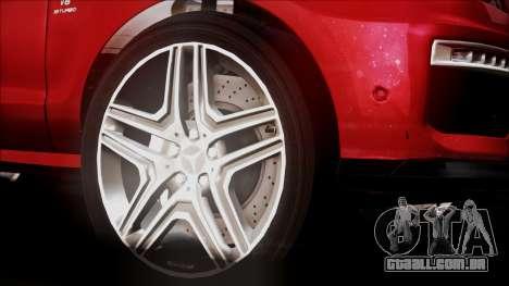 Mercedes-Benz ML 63 AMG 2014 para GTA San Andreas vista direita