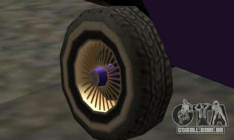 Luni Voodoo Remastered para vista lateral GTA San Andreas