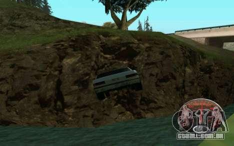 Velocímetro Lada para GTA San Andreas por diante tela